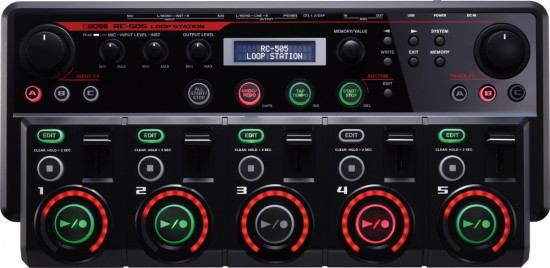 Roland Loop Stationテーブルトップ・モデル RC-505発売!