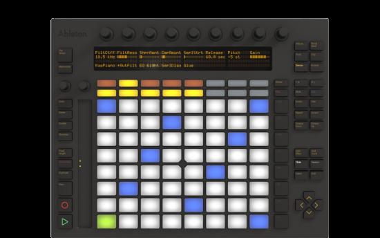 AbletonがLiveのコントローラ「Push」を発表!