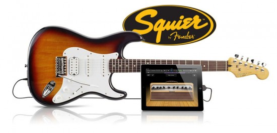 Fender USB接続できるギターSquier「 Strat Guitar」発売!