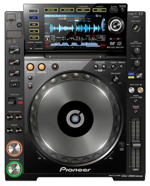 Wifi,USB接続されたスマフォ内の楽曲を使ったDJプレイが可能なCDJ「CDJ-2000 nexus」