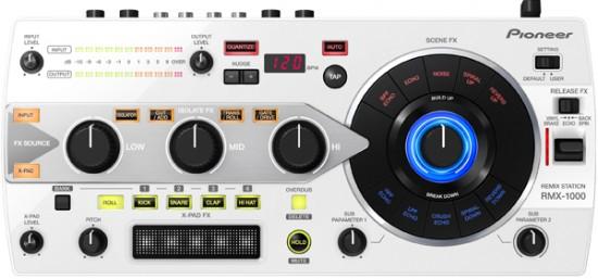 Pioneer REMIX STATION「RMX-1000」のホワイトバージョンを発売!