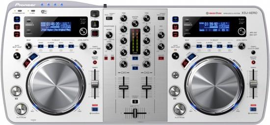 Pioneer PCDJコントローラXDJ-AEROのホワイトカラー発売!