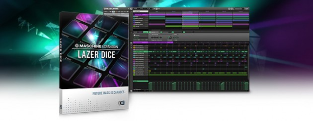 Native Instruments フューチャーベース MASCHINE EXPANSION「LAZER DICE」発売!