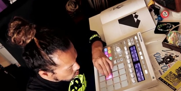 NI「Japanese artist Olive Oil meets Maschine」動画を公開!